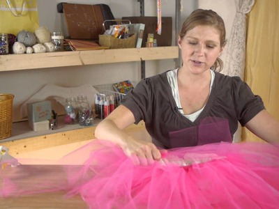 No-Sew Tutu Dress Instructions : Tutus, Ribbons & Other Crafts
