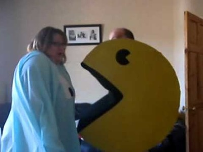 Pacman & The Ghost Fancy Dress Costumes