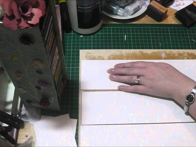 Part One Tutorial - How to Make a Storage Tower for your Distress Inks