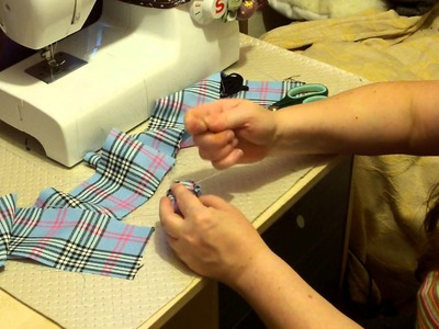 Pin cushion, that sharpens pins. How to sew.