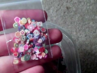 Polymer Clay Cane Slices For Sale