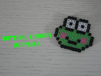 Tutorial Kereppi in Pyssla.Hama Beads