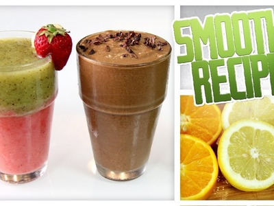 3 Summer Smoothie Recipes - Do It, Gurl