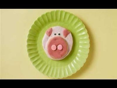Baby Shower Ideas -This Little Piggy Cookies