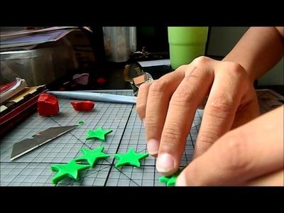 Christmas tree polymer clay