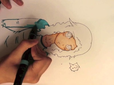Coloring tutorial.Tips using Prismacolor Markers