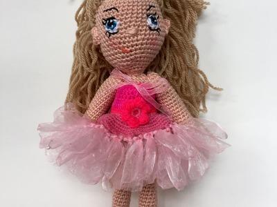 Crochet Doll Dress Tutorial