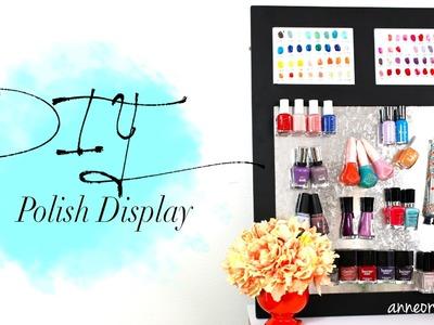 DIY Cute Nail Polish Magnetic Board | ANNEORSHINE & CutePolish