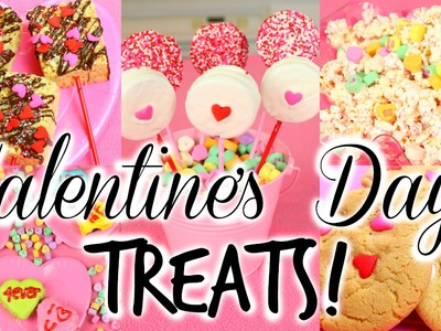 DIY Valentine's Day Treats! Cute, Fun, & Easy!
