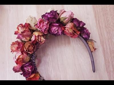 Easy DIY Flower Crown