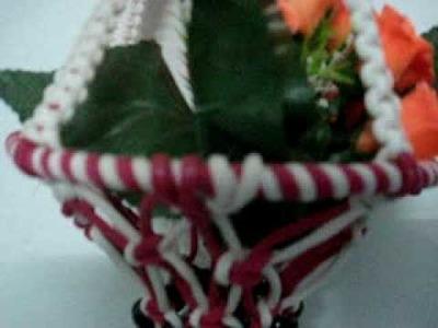 Hand Made Flower Pot.MPG
