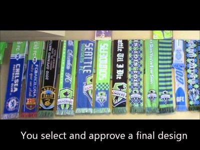 How to create custom scarves 3