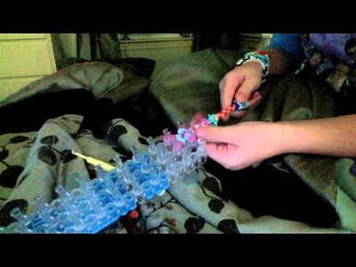 How to make a rainbow loom pencil grip