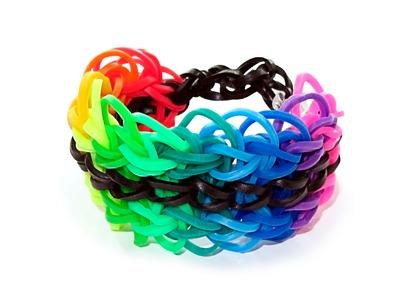 How To Make A Rainbow Loom X-Lace Bracelet