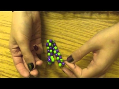 How to Make a Simple Pony Bead Bracelet
