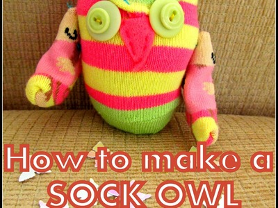 How to: Make a Sock Owl