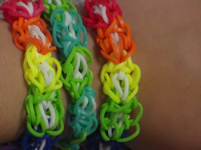 How to make the Rainbow Loom Octo Bracelet