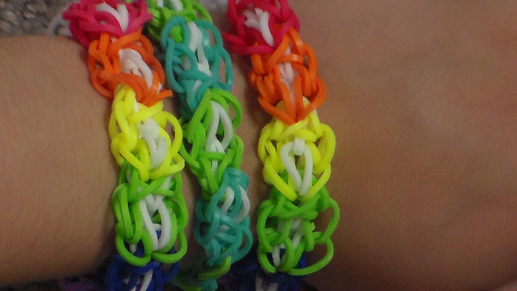 How to make the Rainbow Loom Octo Bracelet