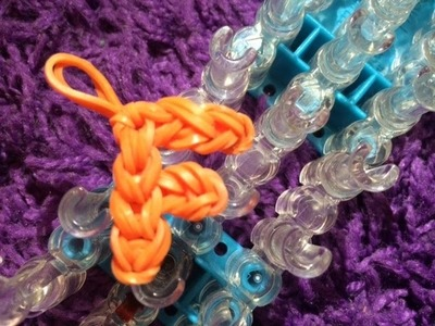 How to: Rainbow Loom Letter F Charm