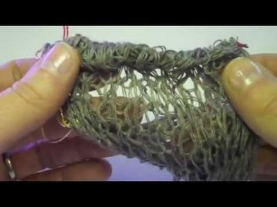 How to seam the ends of Celeste yarn from S. Charles Collezione