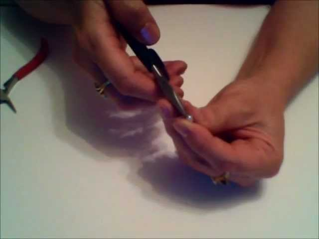 How to Wire Wrap a Pearl Charm - Wire Wrapping Tutorial 2