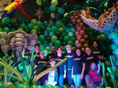Journey into the Jungle by Airheads Balloon Art