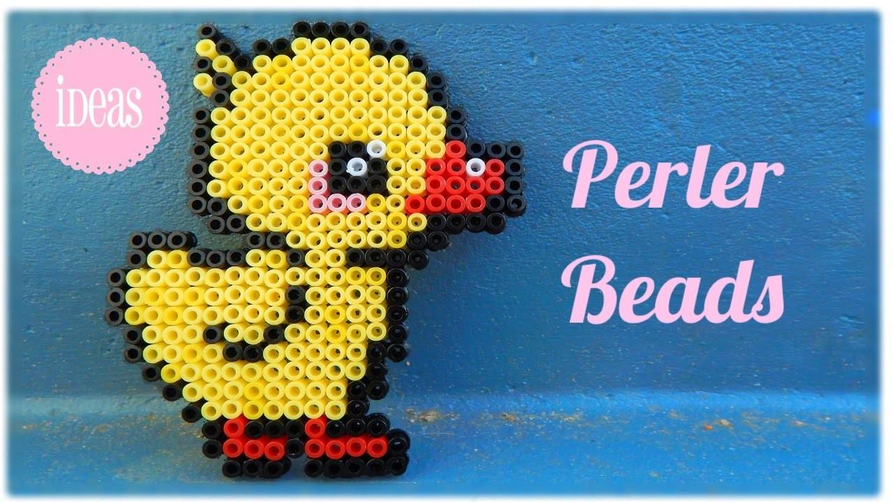 Kawaii Duck in Perler Beads | Ideas and Inspiration |