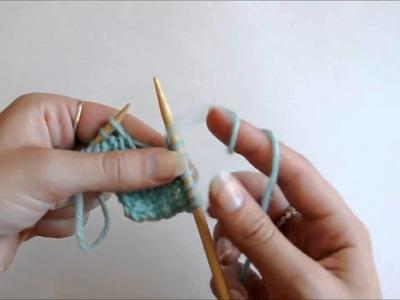 Knitting Fundamentals: How to Do a YO Increase