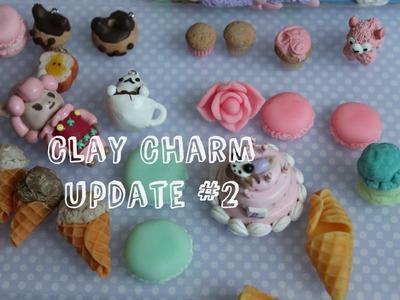 Polymer Clay Charm Update #2 - Birthday Cake!