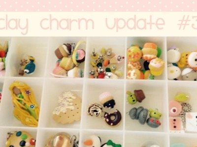 Polymer Clay Charm Update #3: June 2015
