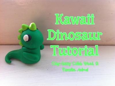 Polymer Clay Dinosaur Tutorial ~ Week 3&4: Clay-Story