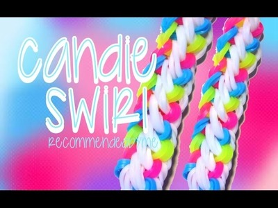 Rainbow Loom-Candie swirl-how to