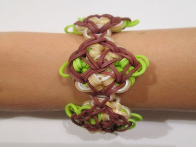 Rainbow Loom- Ella Bracelet (Original Design)
