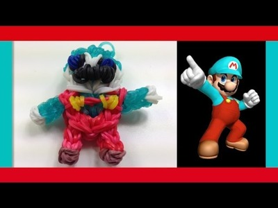 RAINBOW LOOM ICE MARIO BROS CHARM