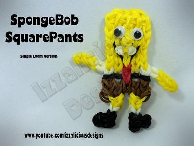Rainbow Loom SpongeBob SquarePants Action Figure.Charm - Gomitas