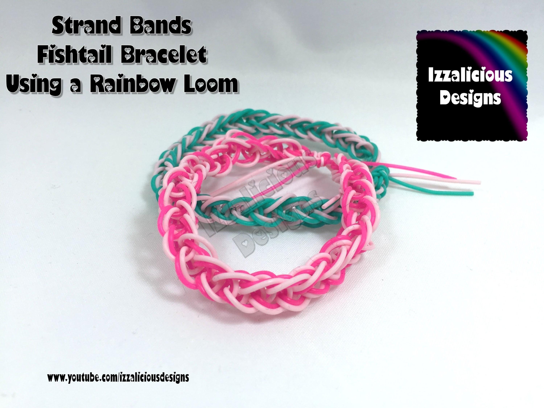 Rainbow Loom & Strand Bands - Fishtail Bracelet