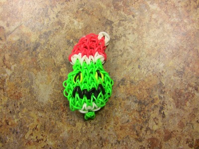 The Grinch Rainbow Loom Bracelet for the Christmas Holiday