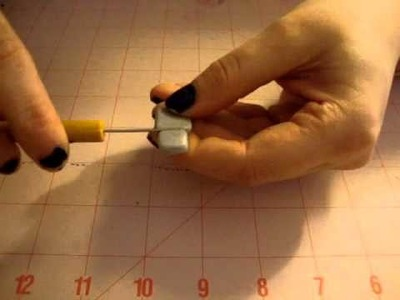 TUTORIAL: I Heart Robot Charm - Polymer Clay