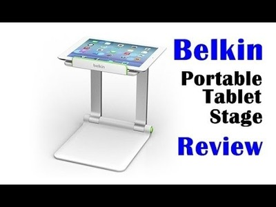 Belkin Portable Tablet Stage Review (record Rainbow Loom Tutorials with iPad)