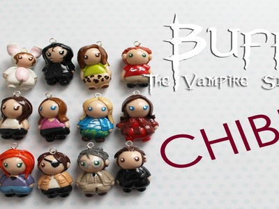 Buffy the Vampire Slayer Chibis: Polymer Clay Creations