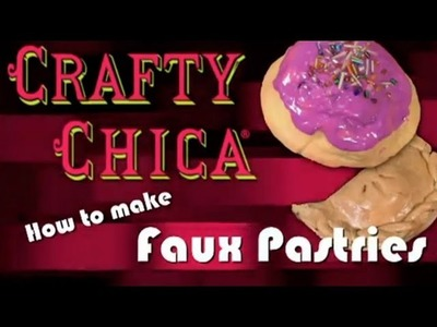 Crafty Chica Day Of The Dead Faux Pastries