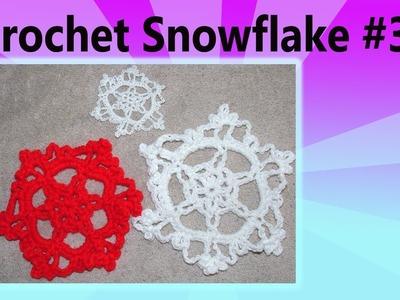 Crochet Snowflake Christmas Crochet Geek