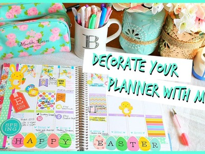 Decorate Your Planner With Me | #PlanningWithBelinda