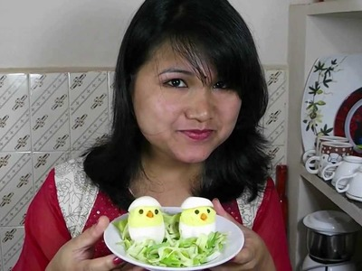 Deviled Egg Chicks Easy Recipe (Your Kids will love it) Easter Recipe