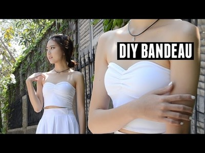 DIY Bandeau. Strapless Bralette