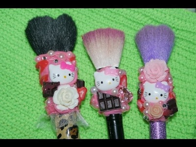 DIY DECORA TUS BROCHAS SUPER CUTE POR PAOLA
