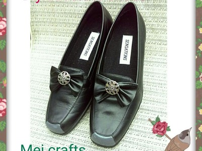 Diy: how to decorate plain shoes