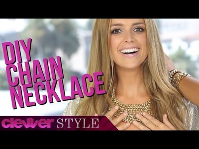 DIY: Metal Chain Necklace on a Budget with Glitter N' Glue's Kristen Turner!