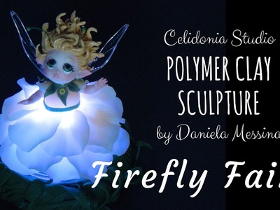 Firefly Fairy - Sculpted from Polymer Clay