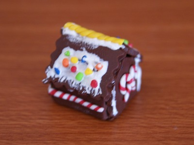 Ginger Bread House: Polymer Clay